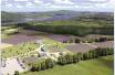 Bleu Lavande, vista aérea. Crédito: BleuLavande.ca