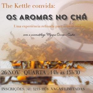 Aromas no Cha Nov14