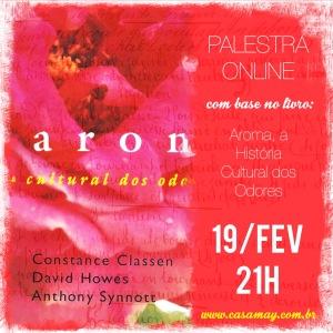 Palestra Aroma Historia Cultural livro