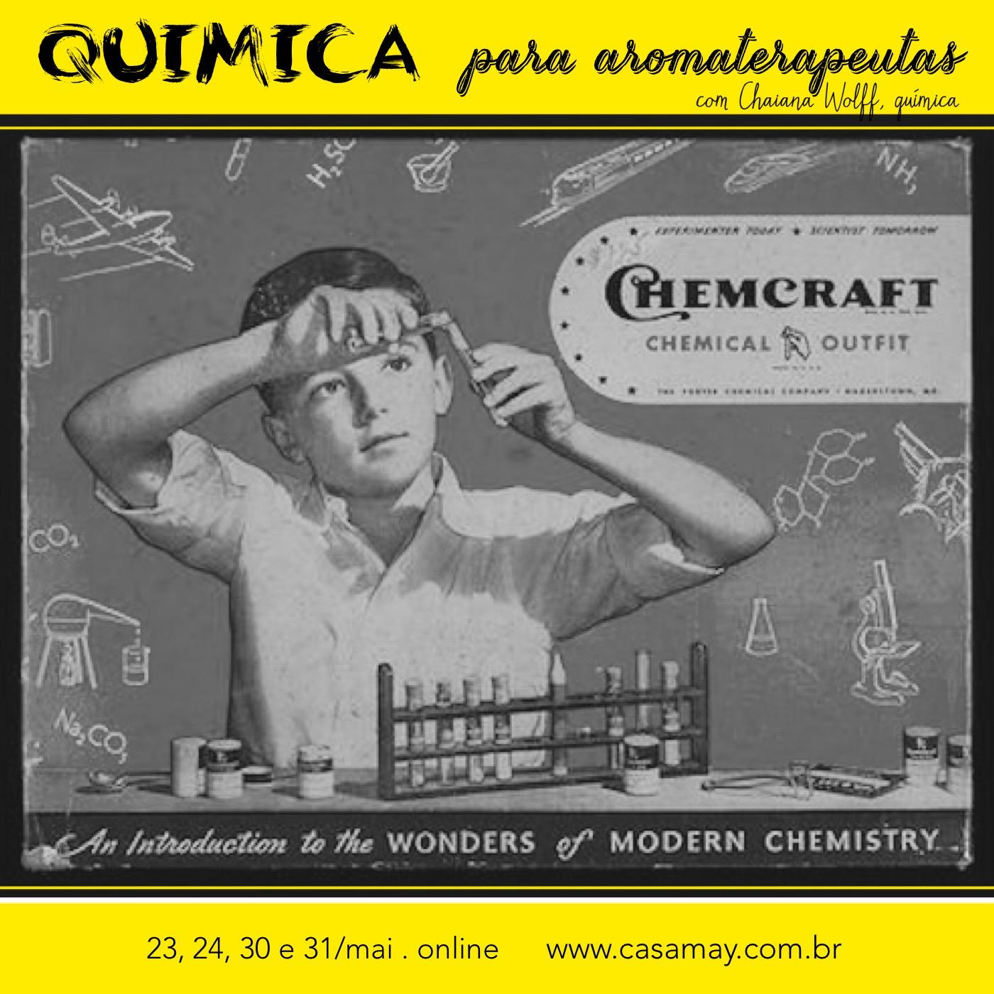 Quimica Aromaterapeutas amarelo