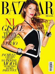 capa Gisele Bündchen Harper s Bazaar 1