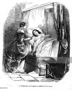 milady no cativeiro 19th century