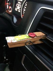 pregador aromatizador ar do carro 2