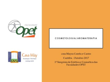 cosmetologia e aromaterapia Out17