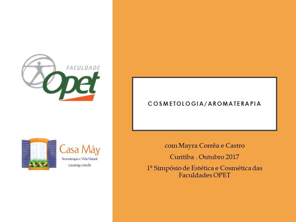 cosmetologia e aromaterapia Out17