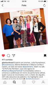 3o glamour beauty festival painel do talk nov17